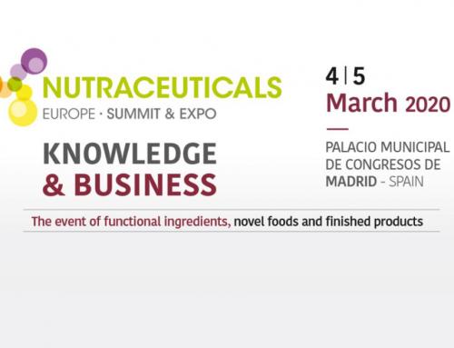 Meet Prosol in Madrid: Nutraceuticals Europe 2020